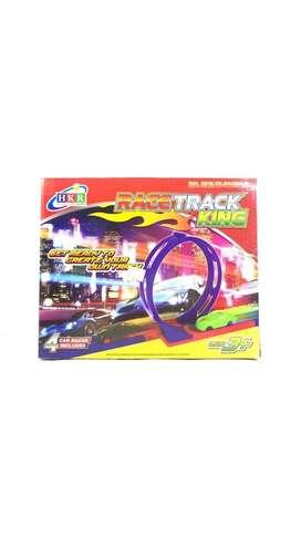 Mainan mobil track balap set - Race Track King HKR 024100