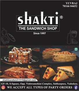 Shakti the sandwich shop subhanpura