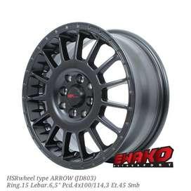 Arrow R15 - HSRwheel Makassar Velg Mobil Racing Import