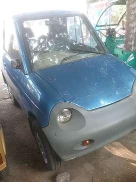 E car reva with new system 4 battery