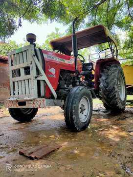 Tractor and trolley for sale