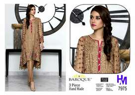 Boutique + embroidered 3pc best quality lawn suit