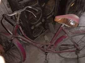 Bsa 3years old  ladies cycle