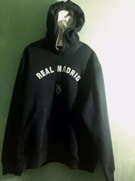 "ADIDAS HOODIE ""REAL MADRID"" AUTHENTIC ORIGINAL (LIMITED EDITION)."