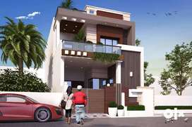 155 YARD UNDER CONSTRUCTION DUPLEX HOUSE 1.10 CRORE(JAGRATI VIHAR MRT)