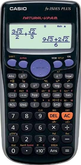 Calculator Casio Fx-350ES Plus Scientific Calculator / Bisa COD