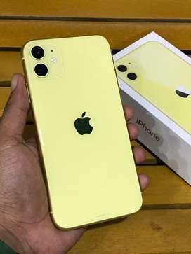 iPhone 11 128Gb Yellow // Garansi resmi iBox indonesia