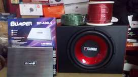 Paket Murmer Audio Bass Mantap