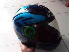 Helm fullface merk NHK Type GP1000 warna biru