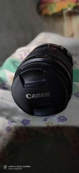 Canon lens 18 55