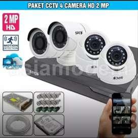 HEMAT BIAYA KAMERA CCTV OUTDOOR INDOOR 2 MP