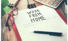 Work from home through phone and internet connection