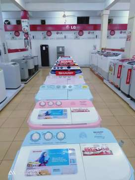 Promo mesin cuci sharp 8 kg