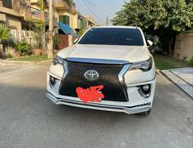 Fortuner up lift bumper front only