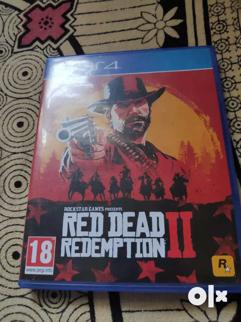 PS4 Red dead Redemption 2 0