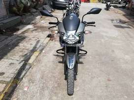 Auto india tvs apache 2015 end gray colour single owner up