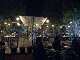 Running Garden Restaurant bar on Rent with all setup paud road bhugaon
