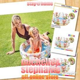 M&S OUTDOORPOOLFANI07 - 2020 Kolam Renang Anak Bayi BABY DINO POOL 571