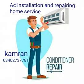 Ac installation and repairing home service