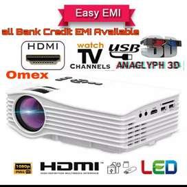 LOW PRICE BEST HOME CINEMA HD PROJECTOR USB SD HDMI VGA AV TV INPUTS