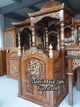 Mimbar masjid feed gold D845 talk