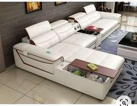L type modern sofa set