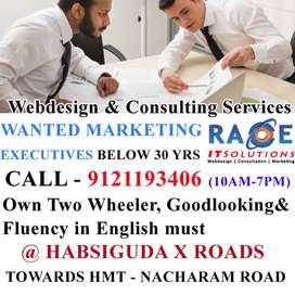Wanted  Marketing Executives