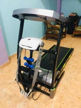 Treadmill ELEKTRIK PARIS murah auto incline siap kirim