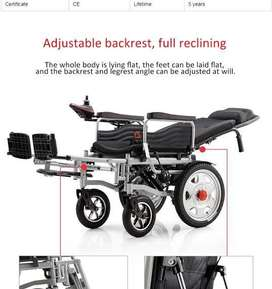 Electronic Electric Battery Power Wheel Chair with Reclining 180E