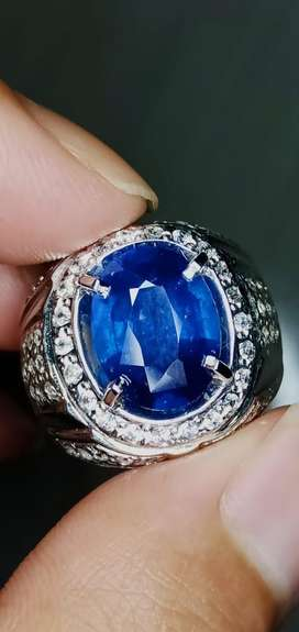 Natural sim to royal blue safir srilanka 4,2 crt memo big