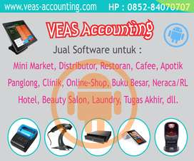 Software Komputer VEAS toko apotik klinik grosir bengkel distributor