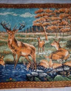 Wall Hanging Woolen Tapestry