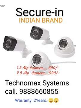 Cctv camera & pbx intercom