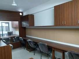10 Seat IT SETAP Fully Furnished Office Space On Rent Prahladnagar.