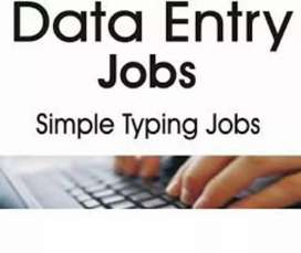 DATA ENTRY PART TIME SIMPLE TYPING JOBS
