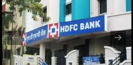Open vacancy for hdfc bank male and female candidate