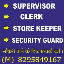 Driver supervisor guard receptionist etc