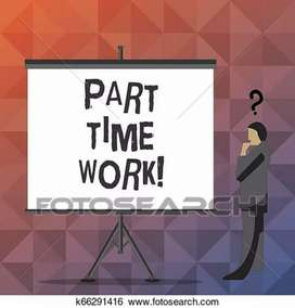 PART TIME JOB BEST EARNING WEEKLY SALARY 13000