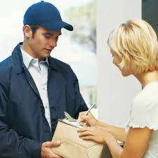 &  delivery person (boy) /parcel delivery person / field boy