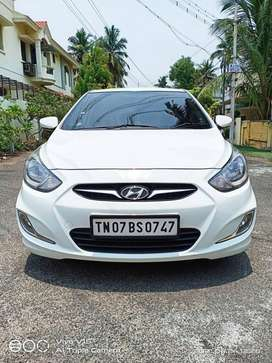 Hyundai Verna CRDi 1.6 AT SX Option, 2012, Diesel
