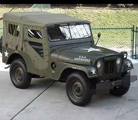 Willy army styel modified turbo jeep