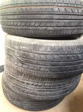 Dunlop just like brand new tires