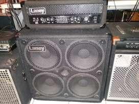 Ampli Bass Head Cabinet Laney RB9  Richter Bass