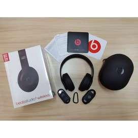 Headphone Bluetooth Beats Studio 3 Wireless - Matte Black