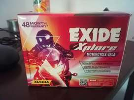 Exide new battery not open