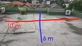 Disewakan lahan di atas rumah rooftop tower BTS selular