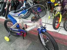 Sepeda anak sakoni size 16