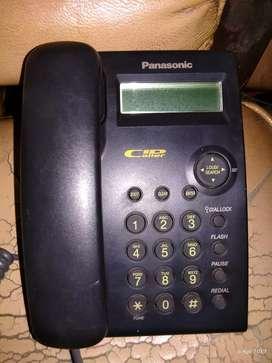 Dijual telepon rumah Panasonic display normal, murah & bergaransi