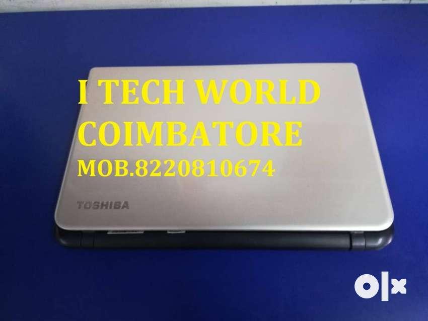 THOSIBA SATELLITE L50  INTEL CORE I5 4TH GEN / 4GB RAM/320GB HDD 0