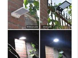 Lampu Solar Tenaga Surya Dinding Taman Tembok Jalan 36LED Sensor